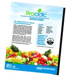 Procidic Fruit and Vegetable Flyer